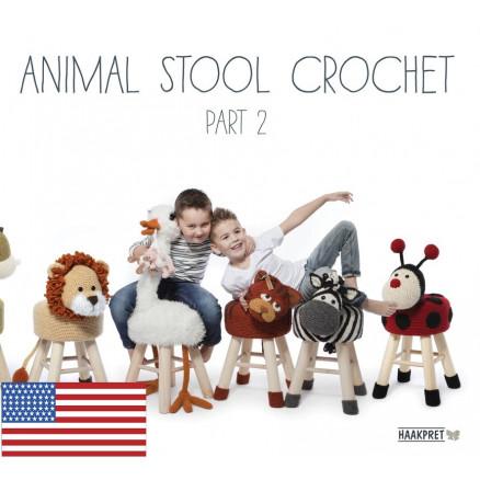 Animal Stool Crochet Part 2 - Engelsk - Bog af Anja Toonen thumbnail