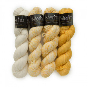 Mayflower Merino The Collection Garn Ass. farver 5083 Sol - 4 stk