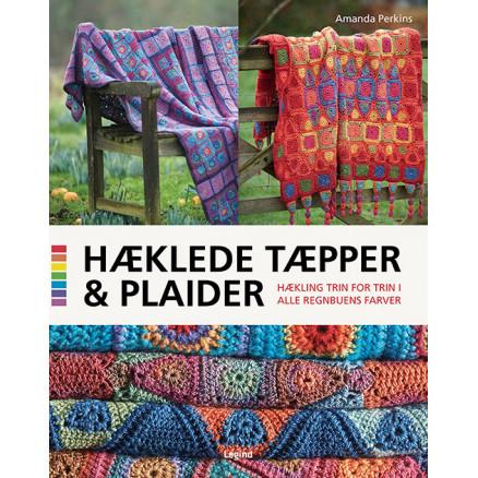 Image of   Hæklede tæpper og plaider - Bog af Amanda Perkins