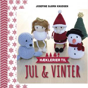 Hæklerier til jul & vinter - Bog af Josefine Bjørn Knudsen