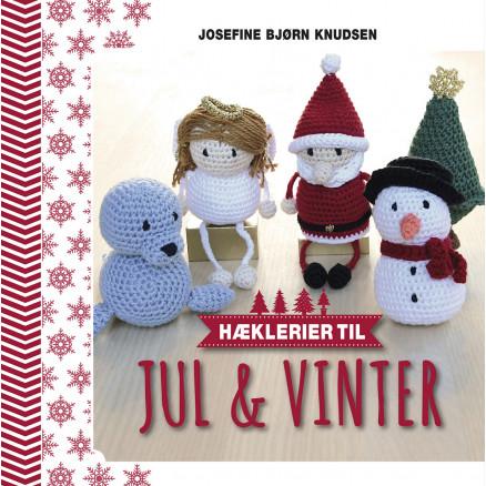 Image of   Hæklerier til jul & vinter - Bog af Josefine Bjørn Knudsen
