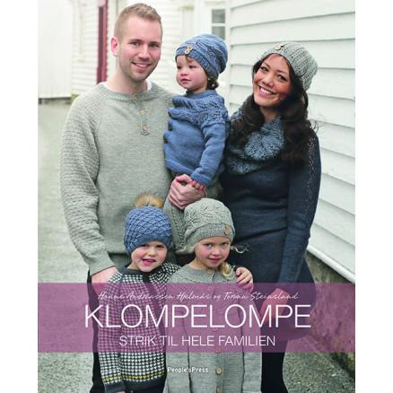 Image of   Klompelompe Strik til hele familien - Bog af Hanne Andreassen Hjelmås