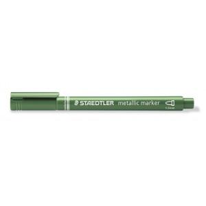 Staedtler Marker Tusch/Tus Metallic Grøn 1-2mm - 1 stk