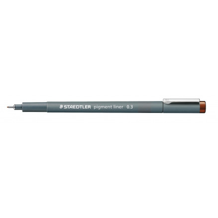 Image of   Staedtler Pigment Liner Tusch/Tus Brun 0,3mm - 1 stk