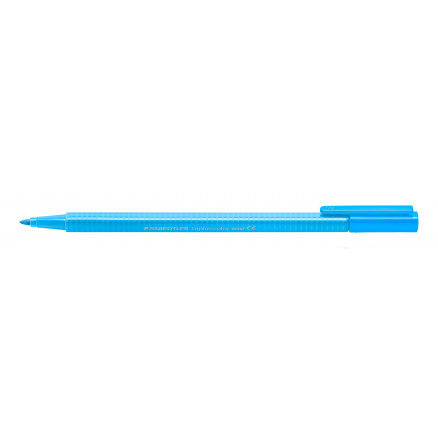 Image of   Staedtler Triplus Color Tusch/Tus Neon Blå 1mm - 1 stk