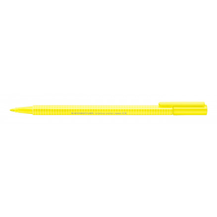 Image of   Staedtler Triplus Color Tusch/Tus Neon Gul 1mm - 1 stk
