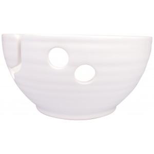 Infinity Hearts Garnskål Keramik Blank Hvid 17cm