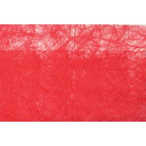 Dekorationsvæv Rød 0,30x1m