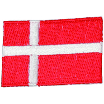 Image of   Strygemærke Flag Danmark 4x6cm - 1 stk