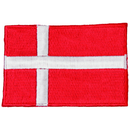 Image of   Strygemærke Flag Danmark 9x6cm - 1 stk