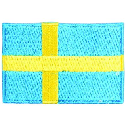 Image of   Strygemærke Flag Sverige 4x6cm - 1 stk