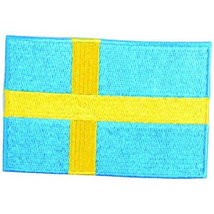 Image of   Strygemærke Flag Sverige 9x6cm - 1 stk