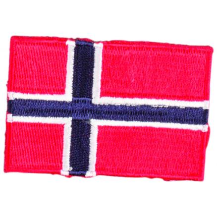 Image of   Strygemærke Flag Norge 4x6cm - 1 stk
