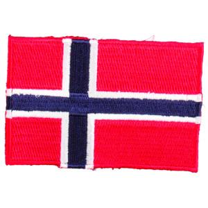 Strygemærke Flag Norge 9x6cm - 1 stk