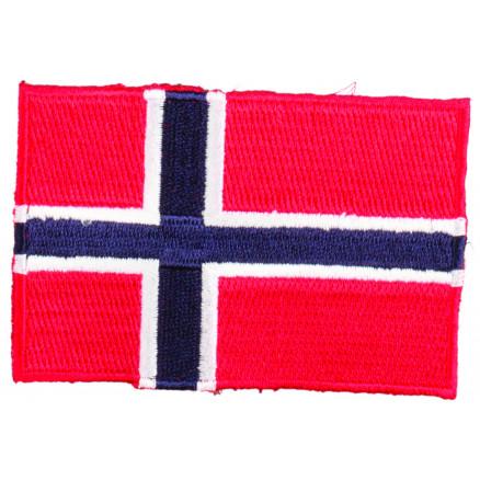 Image of   Strygemærke Flag Norge 9x6cm - 1 stk