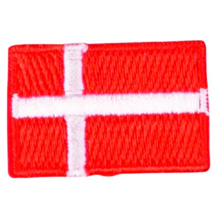 Image of   Strygemærke Flag Danmark 3x2cm - 1 stk
