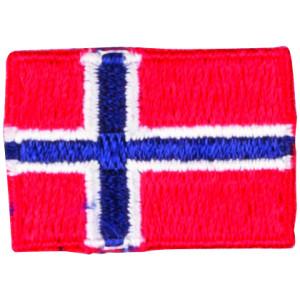 Strygemærke Flag Norge 3x2cm - 1 stk