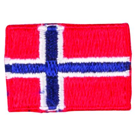Image of   Strygemærke Flag Norge 3x2cm - 1 stk