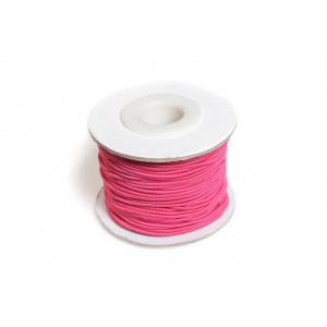 Image of   Elastiksnor Pink 1,2mm 25m