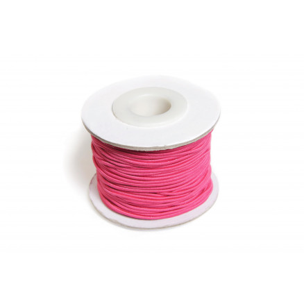 Image of   Elastiksnor Pink 1,2mm 25m