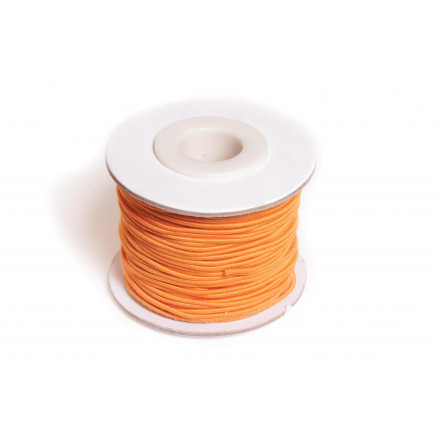 Image of   Elastiksnor Orange 1,2mm 25m