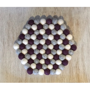 Bordskåner af Rito Krea - Bordskåner Syopskrift 22cm