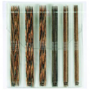 KnitPro Strømpepinde Træ Sæt 2-4,5 mm