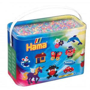 Hama Midi Perler 208-50 Pastel Mix 50 - 30.000 stk