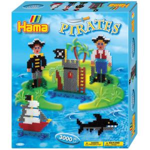 Hama Midi Gaveæske 3229 Pirater