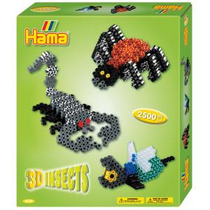 Hama Midi Gaveæske 3239 3D Insects
