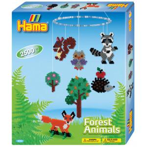 Hama Midi Gaveæske 3240 Forest Animals