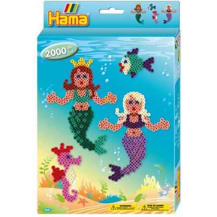 Hama Midi Ophængsæske 3431 Havfruer thumbnail