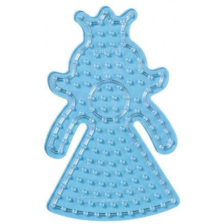 Hama Maxi Perleplade 8223 Prinsesse Transparent - 1 stk thumbnail