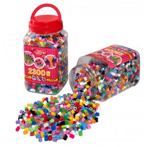 Image of   Hama Maxi Perler 8586 13 Ass. farver - 2.300 stk