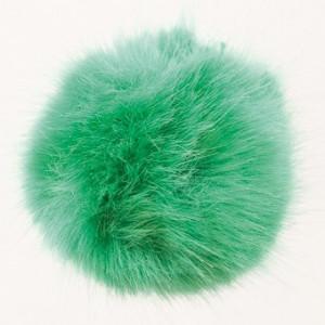 Rico design – Rico pompon kvast akryl grøn 10 cm fra rito.dk
