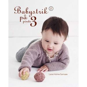 Babystrik på pinde 3 Hæfte 1 - Bog af Lene Holme Samsøe