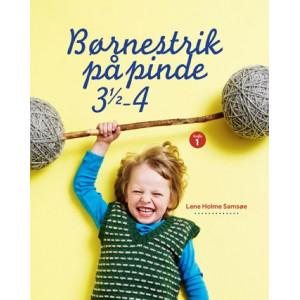 Diverse Børnestrik på pinde 3,5 - 4 - bog af lene holme samsøe på rito.dk