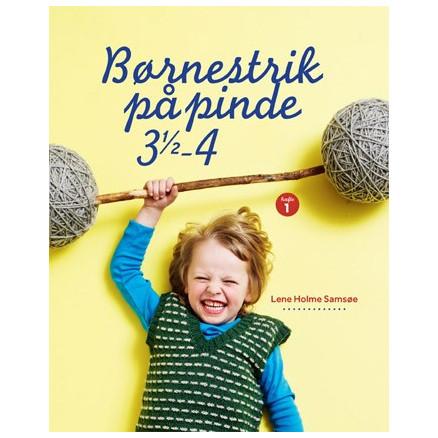 Image of   Børnestrik på pinde 3,5 - 4 - Bog af Lene Holme Samsøe