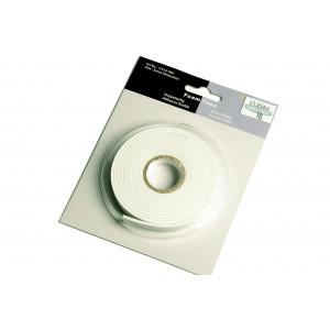 Dobbeltklæbende 3D tape/Foam tape 2x10mm 2m