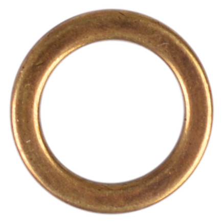 Image of   Ring Gl. Messing 14mm - 1 stk