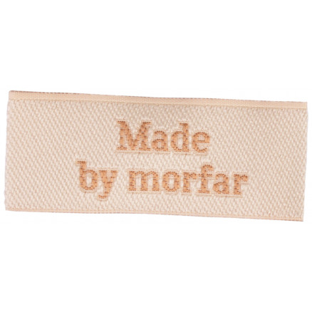 Image of   Label Made by Morfar Sandfarve - 1 stk