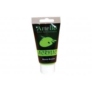 Artello Akrylmaling/Kunstnerfarve Neon grøn 75ml