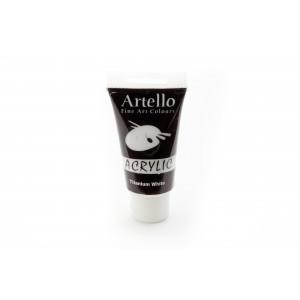 Artello Akrylmaling/Kunstnerfarve Hvid 75ml