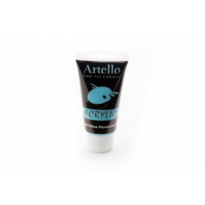 Artello Akrylmaling/Kunstnerfarve Lyseblå 75ml