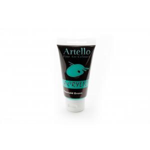 Artello Akrylmaling/Kunstnerfarve Smaragdgrøn 75ml