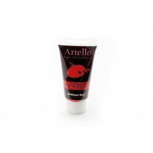 Artello Akrylmaling/Kunstnerfarve Rød 75ml