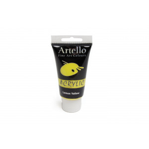 Artello Akrylmaling/Kunstnerfarve Lemon gul 75ml