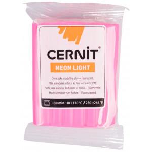 Cernit Modellervoks Neon 213 Pink 56g