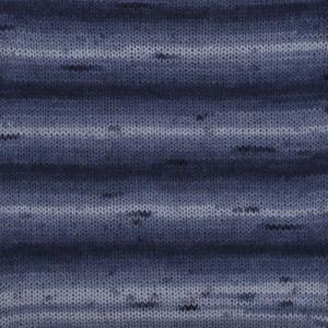 Image of   Drops Fabel Garn Long Print 917 Havdyb
