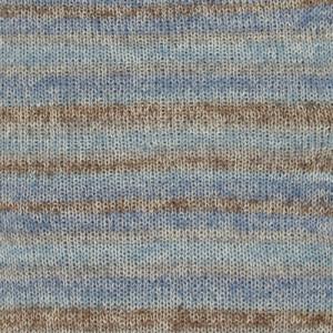 Drops Fabel Garn Long Print 604 Ocean View